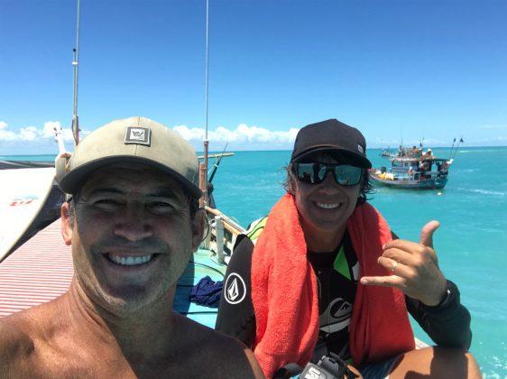 Fabio Gouveia e Rogério Soares, Expedição à Urca do Minhoto (RN). Foto: Fabio_Gouveia.