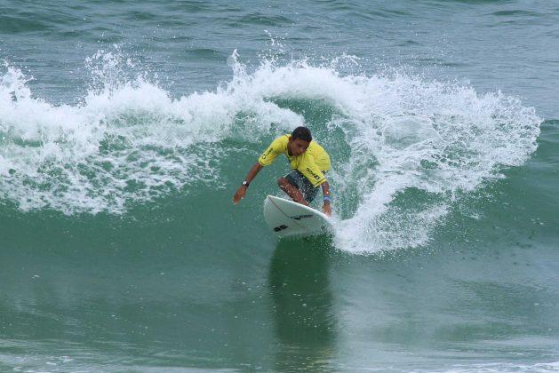 Gabriel Brasil, Fico Surf Festival 2018, praia do Tombo, Guarujá (SP). Foto: Silvia Winik.
