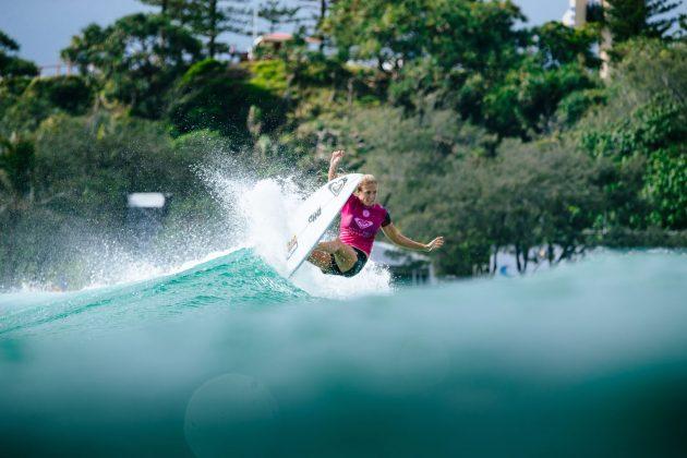 Stephanie Gilmore, Roxy Pro 2018, Gold Coast, Austrália. Foto: WSL / Sloane.