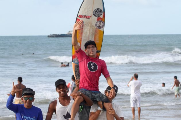 Israel Júnior. Pena Paracuru Pro 2018, Ronco do Mar, Paracuru (CE). Foto: Lima Jr.
