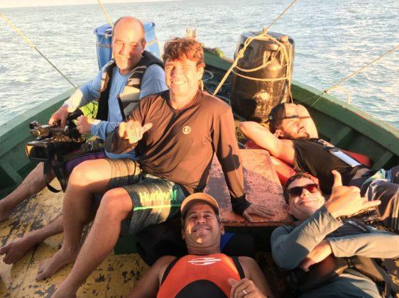 Marcos, Marcelo, Fia, Roger e Guto, Expedição à Urca do Minhoto (RN). Foto: Fabio_Gouveia.