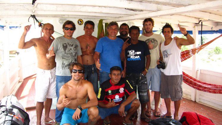 Nossa equipe na chegada a Macapá, Amapá. Foto: Bruno_Alves.