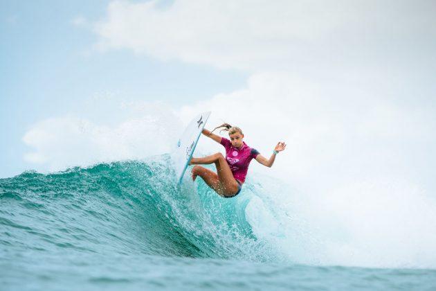 Lakey Peterson, Roxy Pro 2018, Gold Coast, Austrália. Foto: WSL / Sloane.