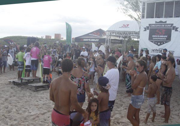 Premiação. Silverbay Catarinense 2018, Praia da Ferrugem, Garopaba. Foto: Basilio Ruy/P.P07