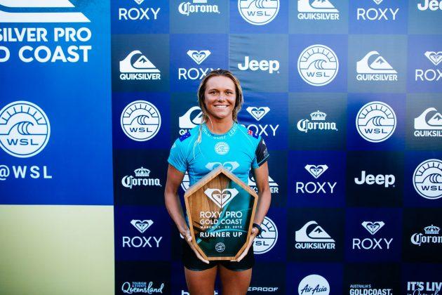 Keely Andrew, Roxy Pro 2018, Gold Coast, Austrália. Foto: WSL / Sloane.
