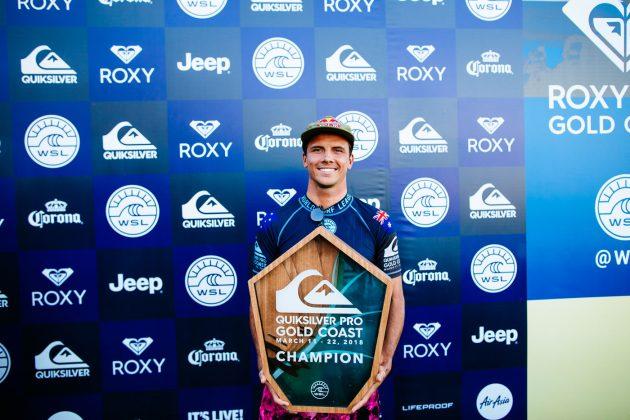 Julian Wilson, Quiksilver Pro 2018, Gold Coast, Austrália. Foto: WSL / Sloane.