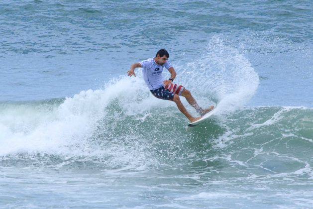 Ricardo Grão, Fico Surf Festival 2018, praia do Tombo, Guarujá (SP). Foto: Silvia Winik.