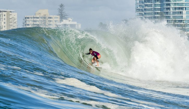 Lakey Peterson, Roxy Pro 2018, Gold Coast, Austrália. Foto: WSL / Cestari.
