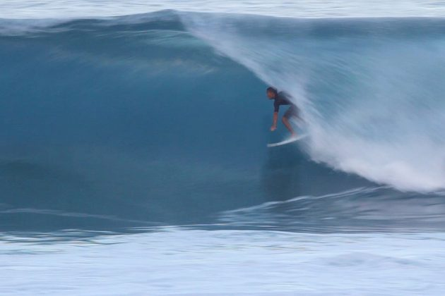 Renan Hanada, North Shore de Oahu, Havaí. Foto: Arquivo pessoal.