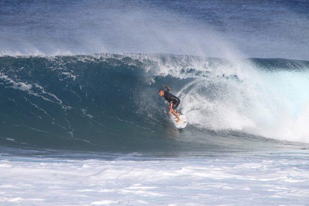 Renan Hanada, North Shore de Oahu, Havaí. Foto: Gil Hanada.