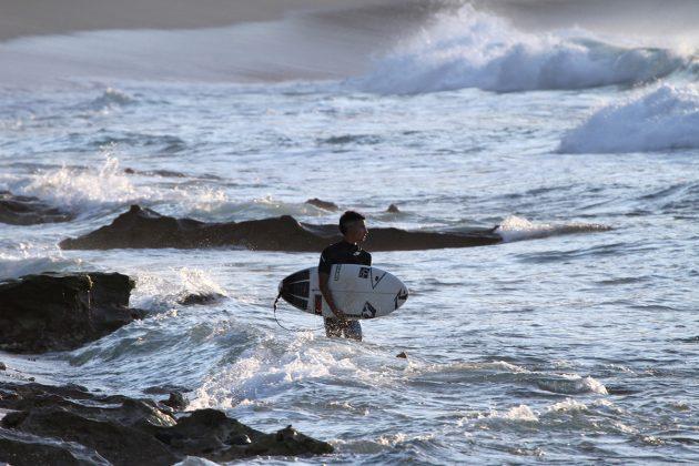 Renan Hanada. North Shore de Oahu, Havaí. Foto: Gil  Hanada
