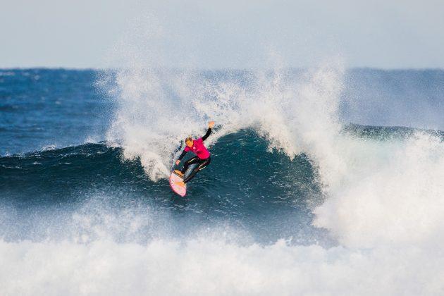 Sage Erickson. Margaret River Pro 2018, Surfers Point, Austrália. Foto: WSL / Dunbar