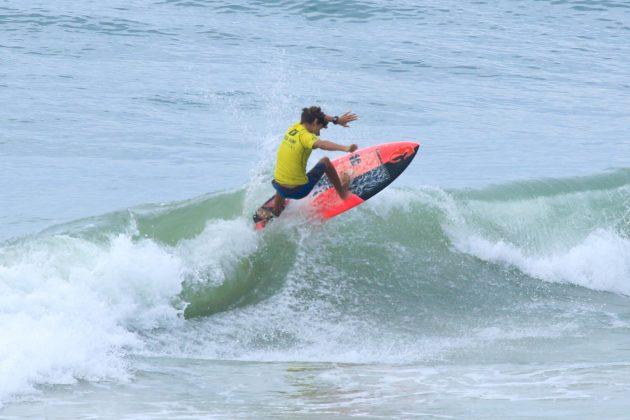 JP Ferreira, Fico Surf Festival 2018, praia do Tombo, Guarujá (SP). Foto: Silvia Winik.