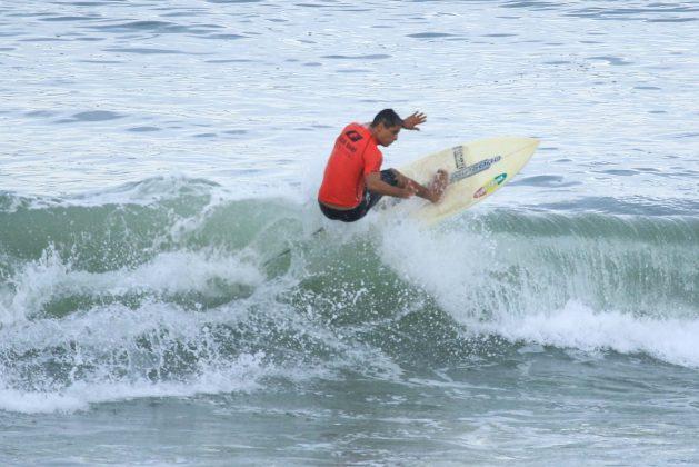 Jair de Oliveira, Fico Surf Festival 2018, praia do Tombo, Guarujá (SP). Foto: Silvia Winik.