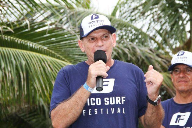 Raphael Fico, Fico Surf Festival 2018, praia do Tombo, Guarujá (SP). Foto: Silvia Winik.