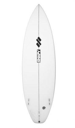 O modelo que leva o nome de Willian vem sendo desenvolvido há três anos e funciona em ondas de 4 a 8 pés. Foto: Reprodução
