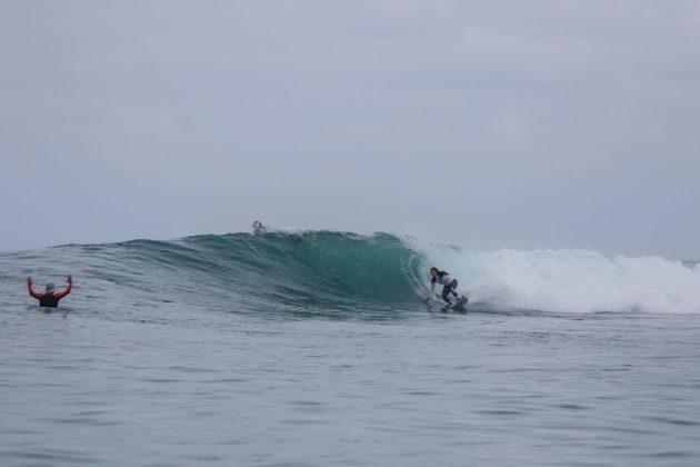 Tiffany Wei. Ilhas Mentawai, Indonésia. Foto: Bruno Veiga / Liquid Eye