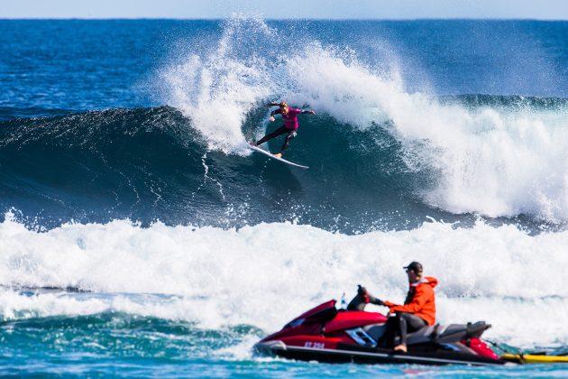Nikki van Dijk. Margaret River Pro 2018, Surfers Point, Austrália. Foto: WSL / Dunbar