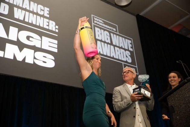 Paige Alms, WSL Big Wave Awards 2018, Califórnia (EUA). Foto: © WSL / Van Kirk.