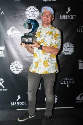 Andrew Cotton, WSL Big Wave Awards 2018, Califórnia (EUA). Foto: © WSL / Van Kirk.
