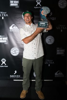 Aaron Gold, WSL Big Wave Awards 2018, Califórnia (EUA). Foto: © WSL / Van Kirk.