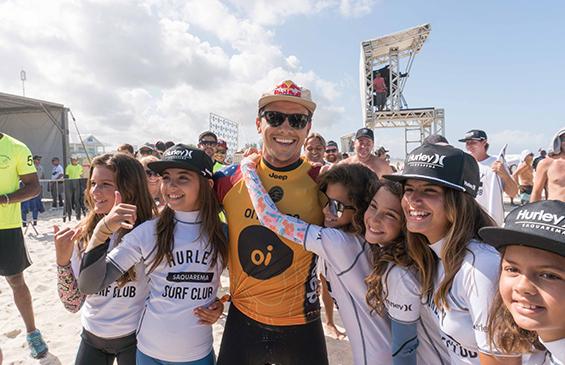 Hurley Surf Club. Itaúna, Saquarema (RJ). Foto: Henrique Pinguim