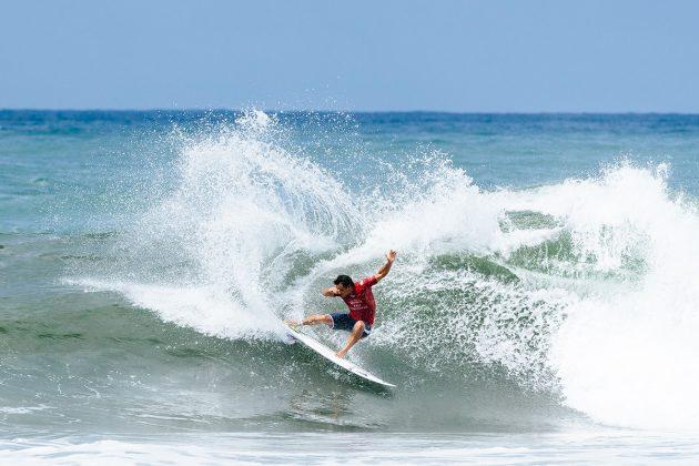 Michel Bourez. Bali Pro 2018, Keramas, Indonésia. Foto: WSL / Sloane