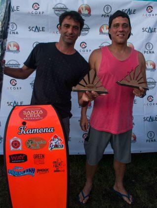 Campeões Grand Master. Rio Bodyboarding Master Series 2018, Praia Brava, Arraial do Cabo (RJ). Foto: David Ventura