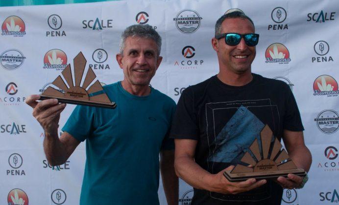 Campeões Legend. Rio Bodyboarding Master Series 2018, Praia Brava, Arraial do Cabo (RJ). Foto: David Ventura