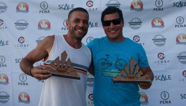 Campeões da Master. Rio Bodyboarding Master Series 2018, Praia Brava, Arraial do Cabo (RJ). Foto: David Ventura