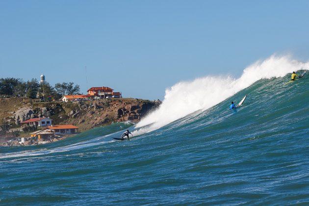 Cristian Merello. Mormaii Big Wave 2018, praia do Cardoso, Farol de Santa Marta (SC). Foto: Sebastian Rojas