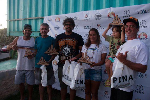 Equipe 3a colocada, Rio Bodyboarding Master Series 2018, Praia Brava, Arraial do Cabo (RJ). Foto: David Ventura.
