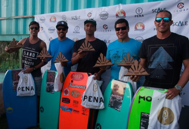 Equipe campeã. Rio Bodyboarding Master Series 2018, Praia Brava, Arraial do Cabo (RJ). Foto: David Ventura