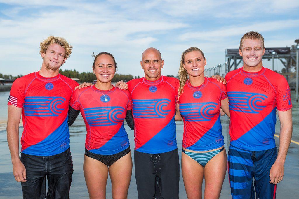 John John Florence, Carissa Moore, Kelly Slater, Lakey Peterson e Kolohe Andino brigam por vagas na equipe norte-americana.