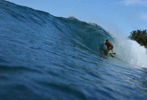 Fabio Gouveia, Nipussy, Ilhas Mentawai, Indonésia. Foto: Osmar Rezende Filho.