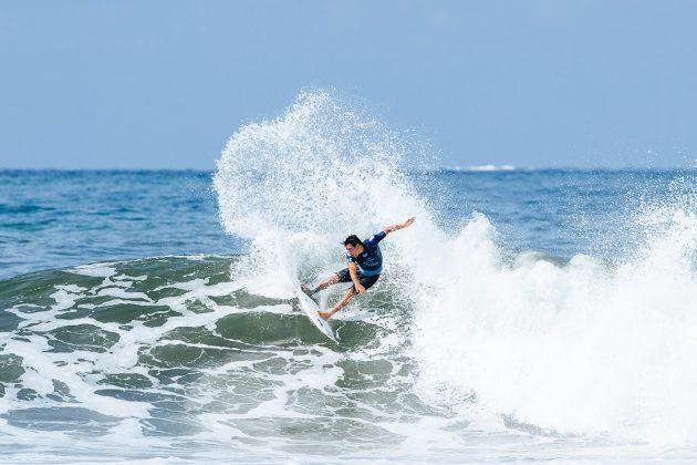 Jeremy Flores. Bali Pro 2018, Keramas, Indonésia. Foto: WSL / Sloane