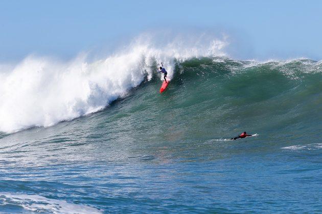 Felipe Cesarano. Mormaii Big Wave 2018, praia do Cardoso, Farol de Santa Marta (SC). Foto: Sebastian Rojas