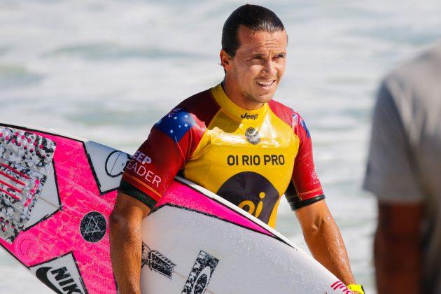 Julian Wilson. Oi Rio Pro 2018, Barrinha, Saquarema (RJ). Foto: Sebastian Rojas
