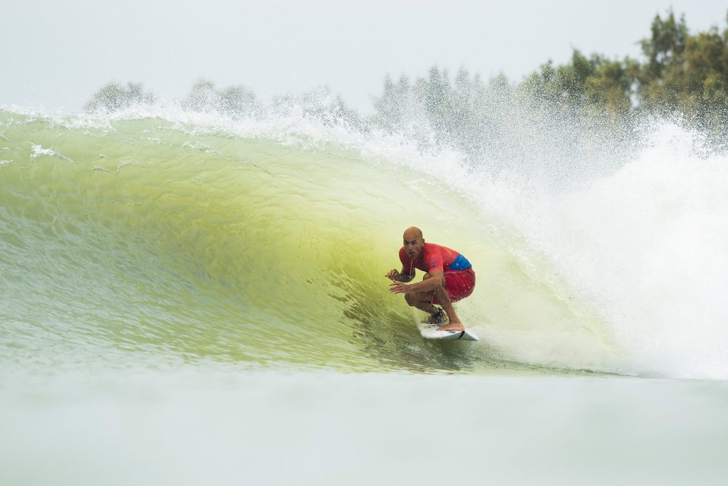 Kelly Slater lidera time norte-americano.