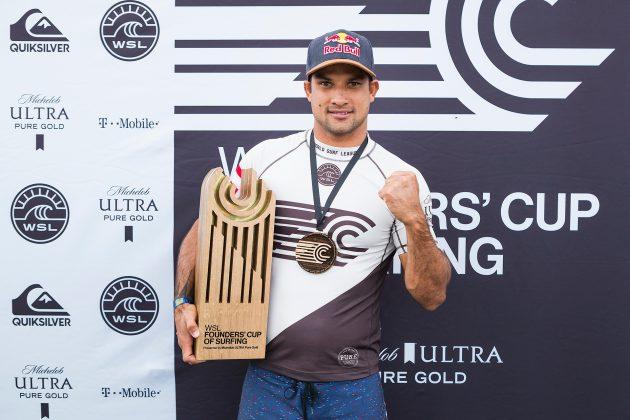 Michel Bourez, Founder's Cup 2018, Lemoore, Califórnia (EUA). Foto: WSL / Cestari.