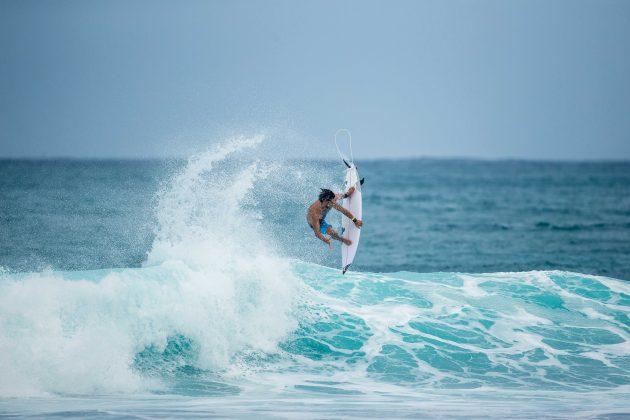 Connor O'Leary, Linha Quiksilver x REPREVE®, North Shore de Oahu, Havaí. Foto: Bosko / Quiksilver.