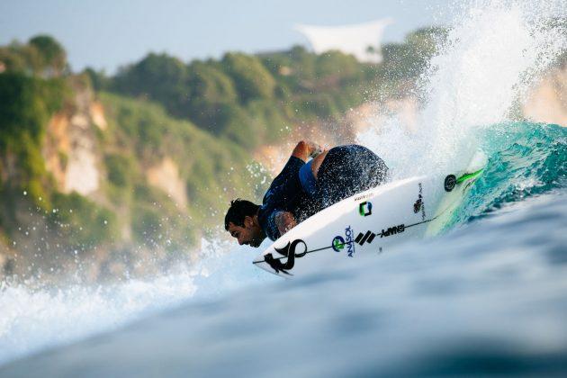 Willian Cardoso. Uluwatu CT 2018, Bali, Indonésia. Foto: WSL / Sloane