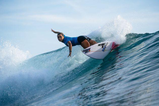 Johanne Defay. Uluwatu CT 2018, Bali, Indonésia. Foto: WSL / Sloane