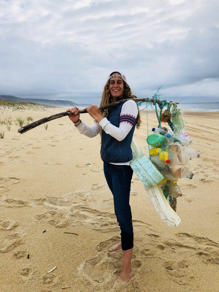 Justine Dupont é nomeada embaixadora do CleanSeas.
