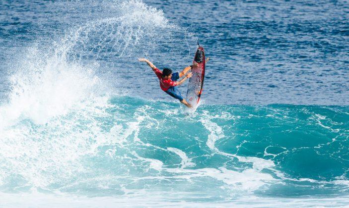 Gabriel Medina. Uluwatu CT 2018, Bali, Indonésia. Foto: WSL / Sloane