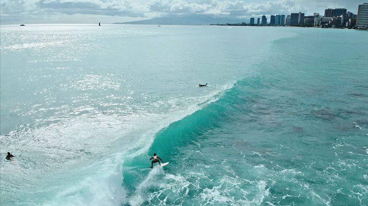 Ala Moana. South Shore de Oahu, Havaí. Foto: Bruno Lemos / Sony Brasil