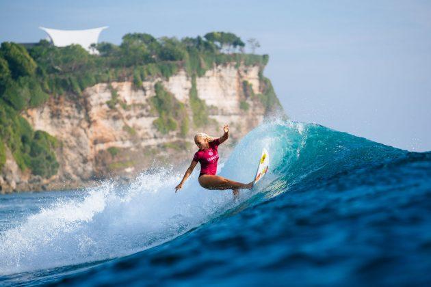 Tatiana Weston-Webb. Uluwatu CT 2018, Bali, Indonésia. Foto: WSL / Sloane