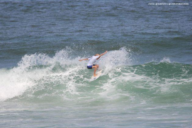 Nathan Hereda, Estadual do Rio 2018, Ponta Negra, Maricá (RJ). Foto: @surfetv / @carlosmatiasrj.