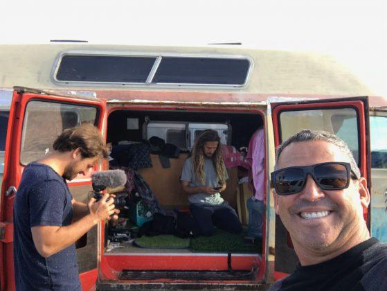 Selfie do Machado's mobile, Califórnia (EUA). Foto: Arquivo pessoal Fabio Gouveia.