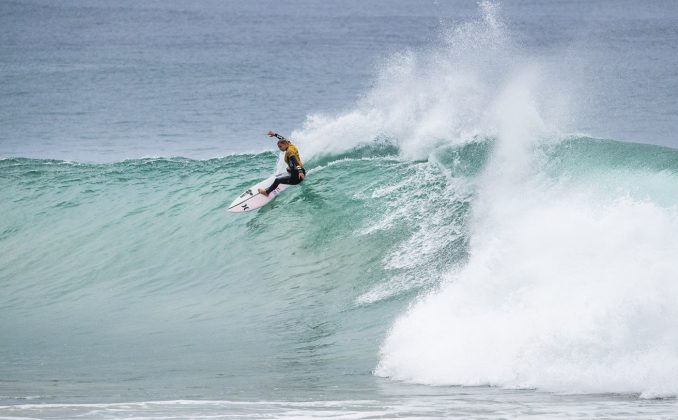 Lakey Peterson, Open J-Bay Women´s 2018, Jeffreys Bay, África do Sul. Foto: WSL / Cestari.